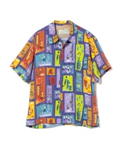SUN SURF KEONI OF HAWAII / TIKI PARADISE by SHAG アロハ シャツ(Men's)