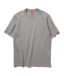 LOOPWHEELER×BEAMS JAPAN / 別注 ポケットTee