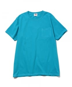 Fruit of the Loom×BEAMS / 別注 フルーツ染 ポケットTee