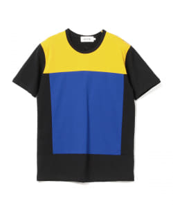ALOYE / Color Blocks Short Sleeve Tee