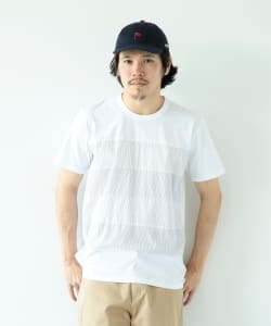 【予約】ALOYE / Shirt Fabric Short Sleeve Tee