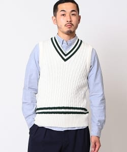 Barmoral Knit Wear×BEAMS PLUS / 別注 クリケット ベスト 17AW