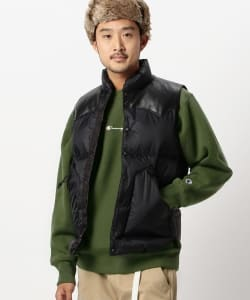 ROCKY MOUNTAIN FEATHERBED × BRIEFING × BEAMS / 別注 ダウンベスト