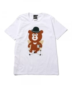 【SPECIAL PRICE】The Wonderful! design works. / CHAIR BEAR ショートスリーブ Tシャツ