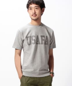 Champion×BEAMS / 別注 USAFA Tee