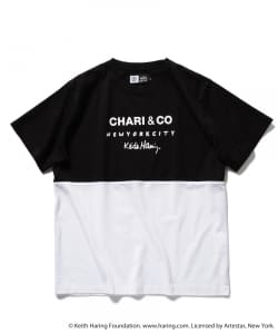 CHARI&CO for Keith Haring / バイトーン Tシャツ