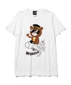 【SPECIAL PRICE】The Wonderful! design works. / PLANE ベア Tシャツ