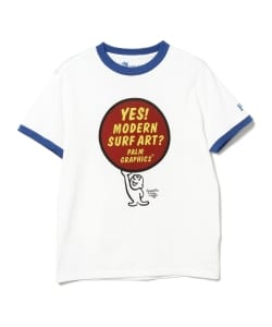 Palm Graphics×BEAMS PLUS / 別注 YES Tシャツ