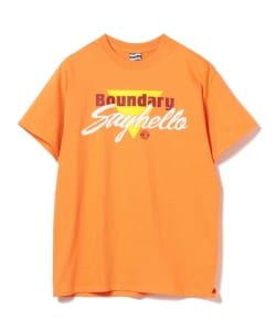 【タイムセール対象 WEB限定】SAYHELLO / Boundary Short Sleeve Tee