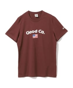 【タイムセール対象 WEB限定】THE GOOD COMPANY × Reebok / New Tee