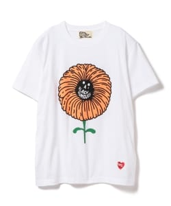 BLACK HUMOURS by Jody Barton / Flower Short Sleeve Tee