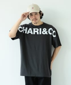 【予約】CHARI&CO × BEAMS T / 別注 Gm Logo Short Sleeve Tee