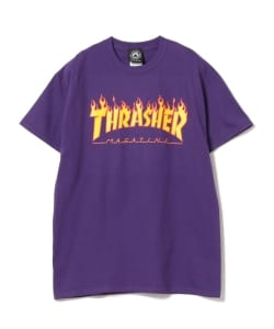 THRASHER / Flame Short Sleeve Tee