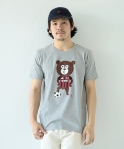 【予約】The Wonderful! design works. / Soccer Bear Tee