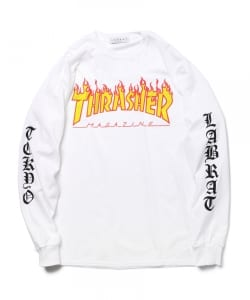 LABRAT×THRASHER / Logo Long Sleeve Tee