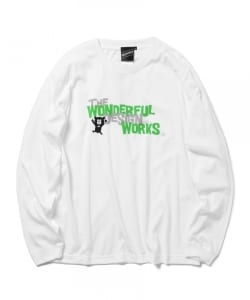 【SPECIAL PRICE】The Wonderful! design works. / ロゴ ベア ロングスリーブ Tシャツ