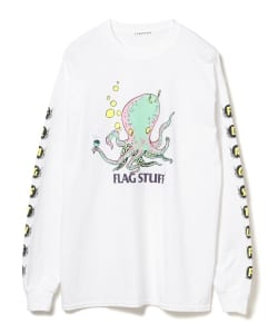 【カタログ掲載】F-LAGSTUF-F / Octopus Long Sleeve Tee
