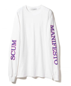 【タイムセール対象 WEB限定】LABRAT x Peter Paquin / Society Dog Long Sleeve Tee