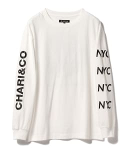 CHARI&CO × BEAMS T / 別注 Circle Logo Long Sleeve Tee