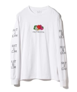FRUIT OF THE LOOM × BEAMS / 別注 ロゴ Tシャツ