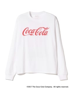 Coca Cola by BEAMS / Enjoy Long Sleeve Tee
