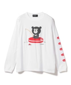 The Wonderful! design works. / Fishing Bear Long Sleeve