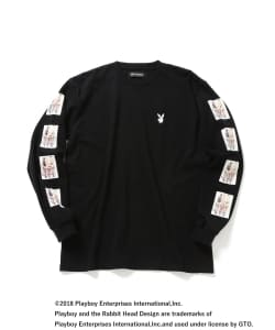 PLAYBOY × BEAMS T / 別注 Long Sleeve Tee