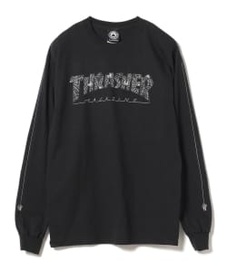 THRASHER / Web Long Sleeve Tee