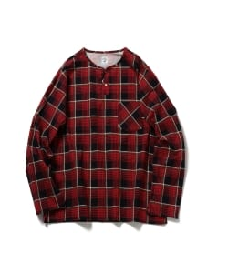 South2 West8 / Flannel Henly Neck Shirts