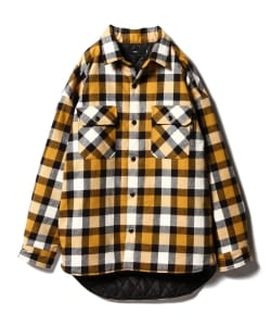 【予約】VAPORIZE / Paded Check Shirt