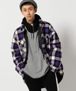 【1/11~再値下げ】VAPORIZE / Paded Check Shirt