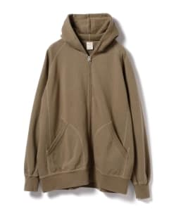 GOLD / Freedom Sleeve Zip Parka