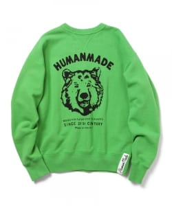 HUMAN MADE / BIG BEAR SWEAT