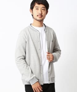 FRED PERRY×BEAMS / 別注 裏毛クルーカーディガン