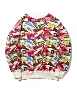 HUMAN MADE / PENNANT SWEATSHIRT