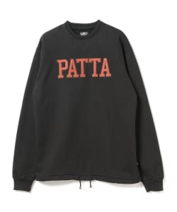 PATTA / Athletic Cord Crew Neck