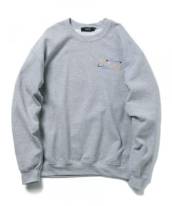 Diaspora Skateboards×BEAMS T / 別注 SWEAT CREW