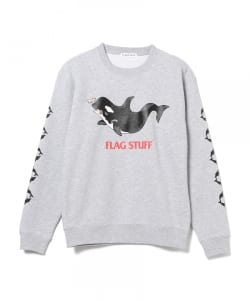 "F-LAGSTUF-F / ""Killer whale"" SWEAT"
