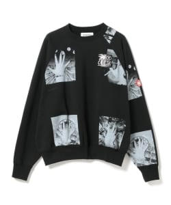 C.E / Block Print Crew Neck Sweat