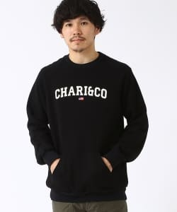 【予約】CHARI&CO / Arch Logo Sweat