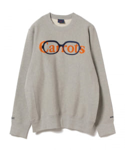 Virgil Normal × Carrots × BEAMS T / 別注 Crew Sweat