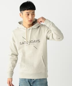 SATURDAYS NYC × BEAMS / 別注 Print Hoodie▲