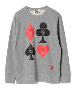 【タイムセール対象 WEB限定】BLACK HUMOURS by Jody Barton / Card Suits Sweat