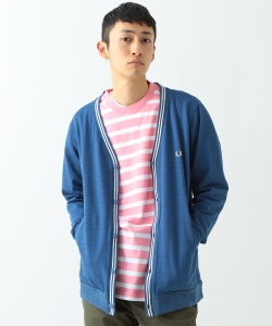 FRED PERRY × BEAMS / 別注 鹿の子 カーディガン