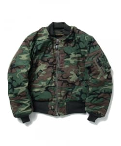 BUZZ RICKSONS × BEAMS JAPAN / 別注 CAMO MA-1