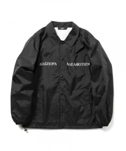 Diaspora Skateboards / Long Letter COACH JACKET