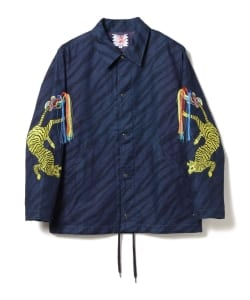 SON OF THE CHEESE / Indigo Tiger Jacket