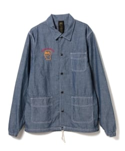 BRAIN-DEAD / Chambray Coach Jacket