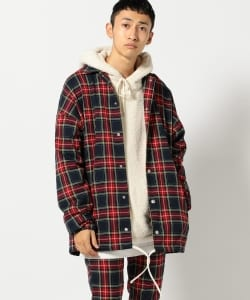 【タイムセール対象 WEB限定】VAPORIZE / Tartan Check Coach Jacket