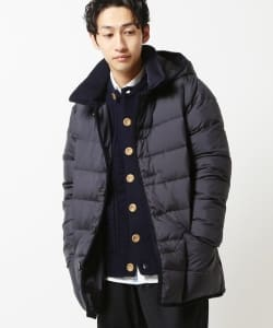 Traditional Weatherwear × BEAMS / 別注 Waverly Hood Down